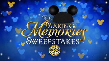 Wheel Of Fortune Disney Memories Sweeps Logo