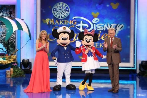 Wheel Of Fortune Pat Sajak Vanna White Captain Mickey Minnie