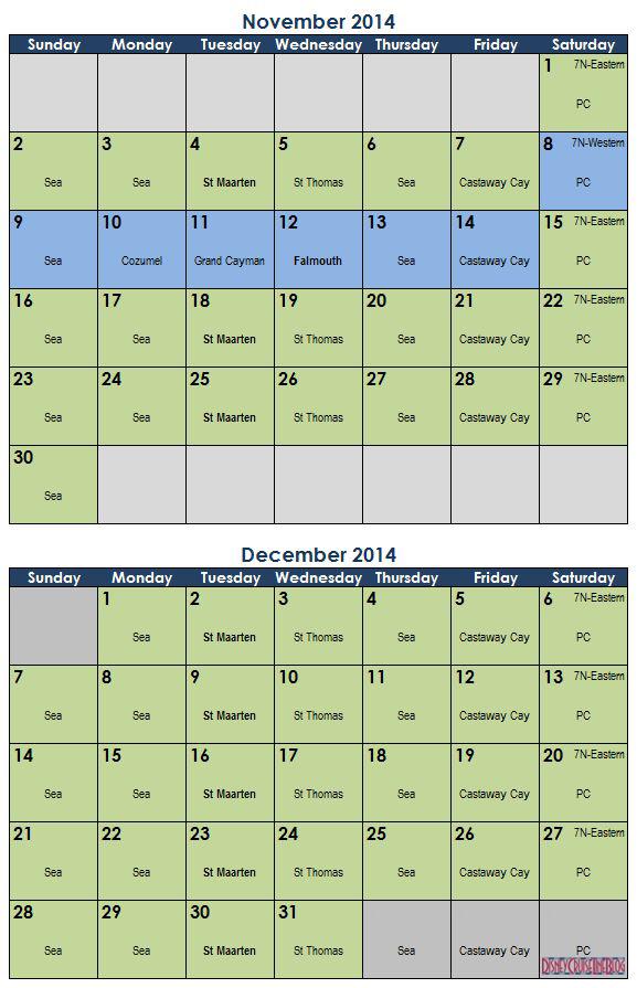 Disney Monthly Calendar November 2015 | Calendar Template 2016