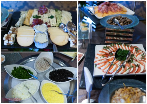 Palo Brunch - Cheese, Caviar, Olives, Antipasto, Tomatoes