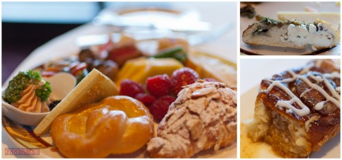 Palo Brunch - Sticky Bun, Gargonzola Bread & Assorted Plate