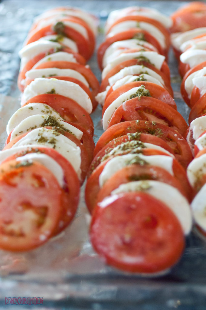 Palo Brunch - Fresh Mozzarella & Tomatoes