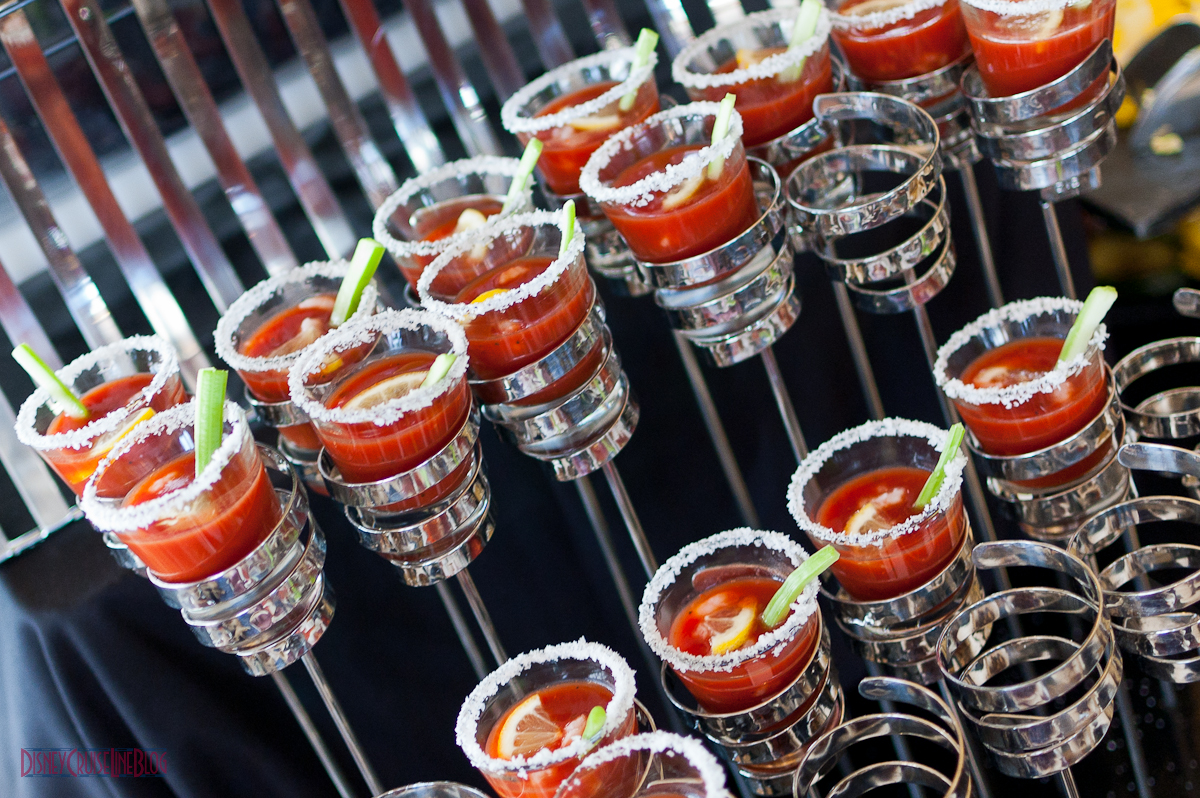 Palo Brunch - Bloody Mary Shots