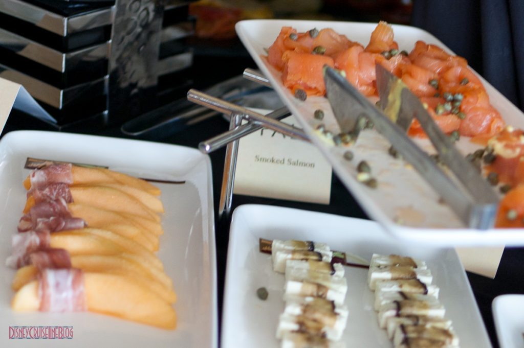 Palo Brunch - Smoked Salmon & Prosciutto wrapped Cantalope