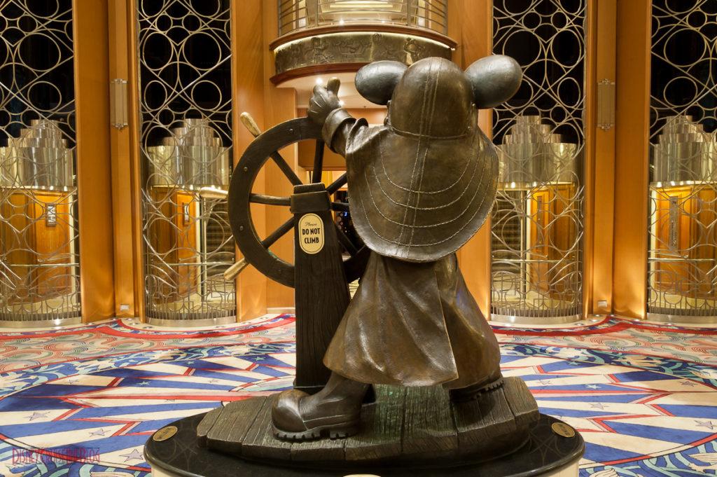 Helmsman Mickey's View