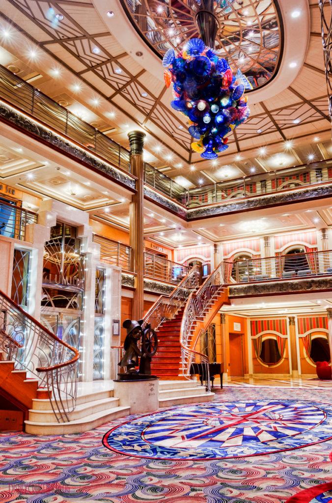 Disney Magic - Atrium Lobby