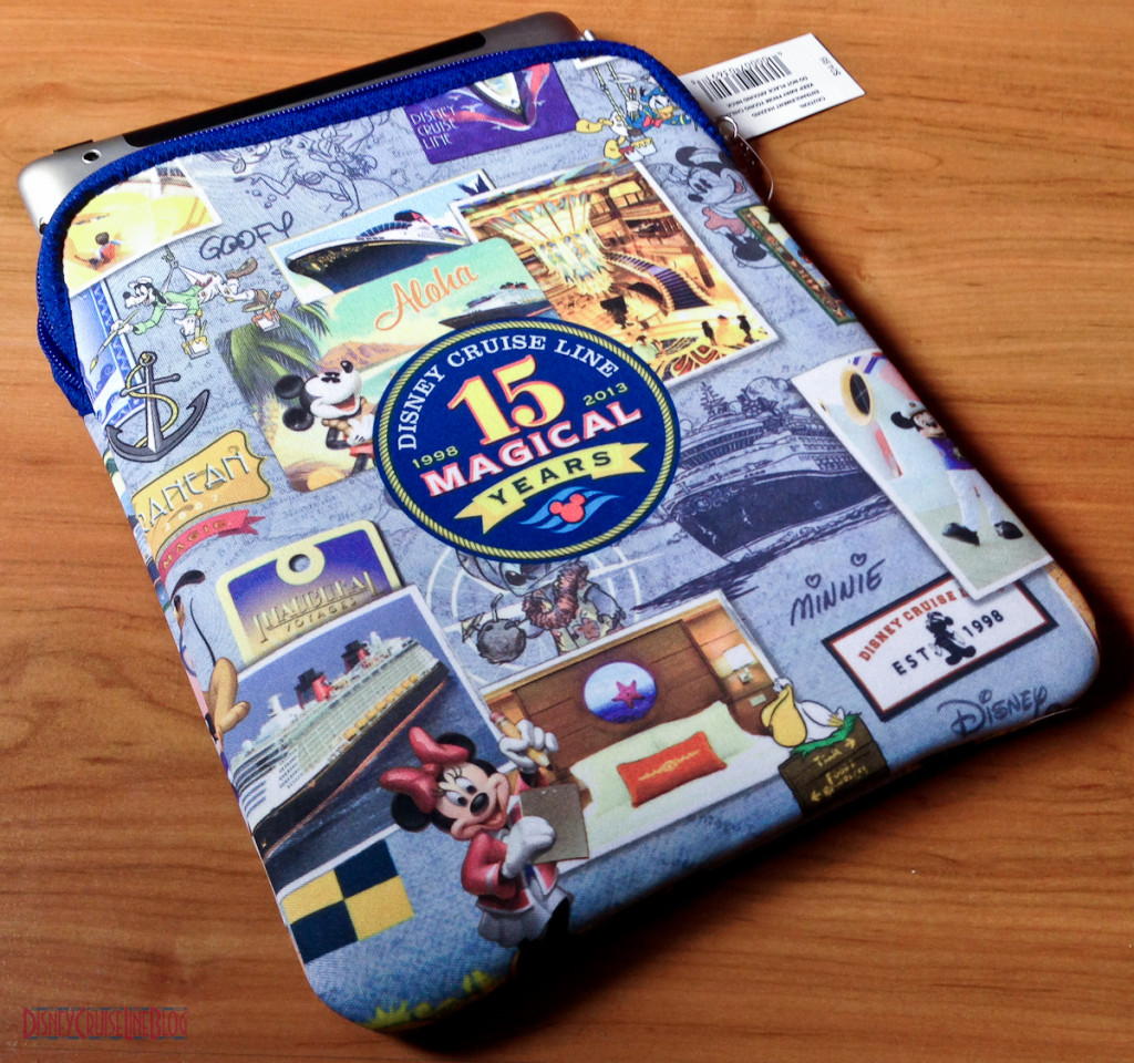 DCL 15 Magical Years - D-Tech iPad/Tablet Neoprene Case