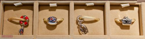 Disney Cruise Line Chamilia Beads - Display