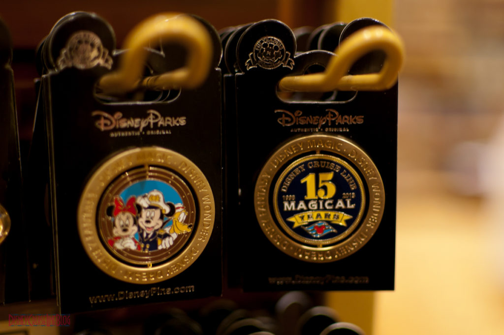 DCL 15 Magical Years - Spinner Pin
