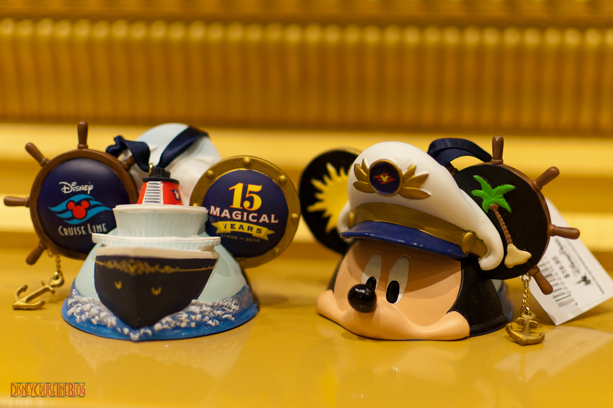 Dcl 15 Magical Years  Captain Mickey Ornament