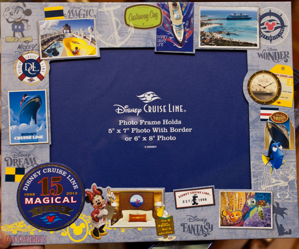 DCL 15 Magical Years - Photo Frame 5x7-6x8