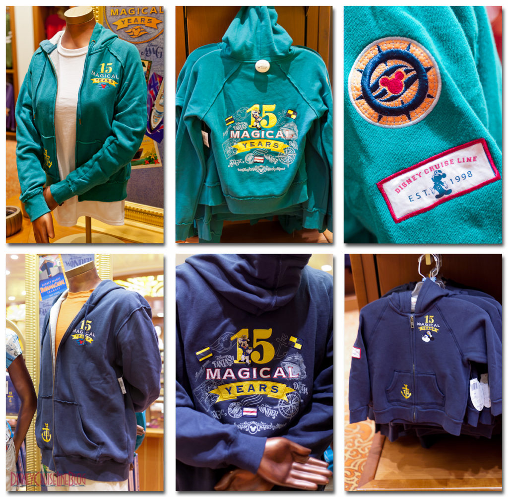 DCL 15 Magical Years - Zippered Hooded Jacket