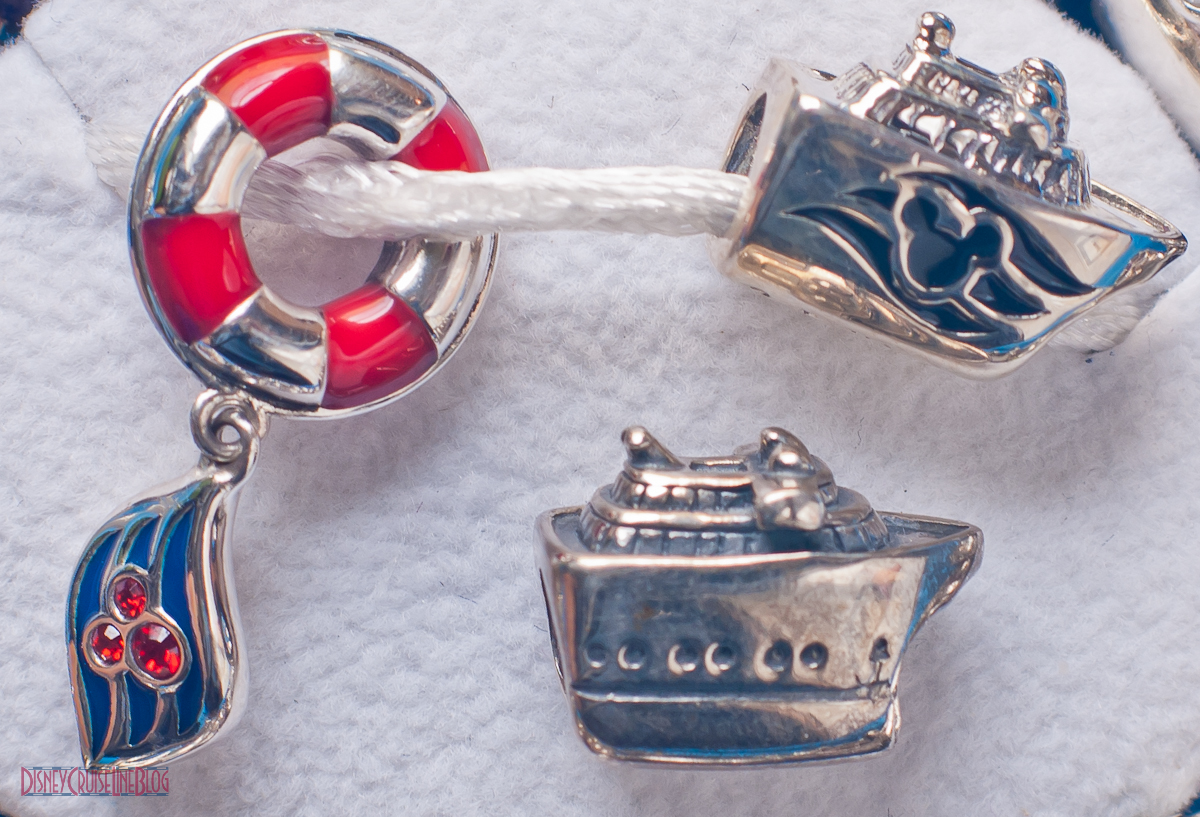 Disney Cruise Line Exclusive Chamilia Charm Beads  The