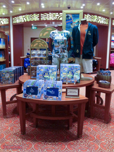 DCL 15 Magical Years - Sea Treasures Display