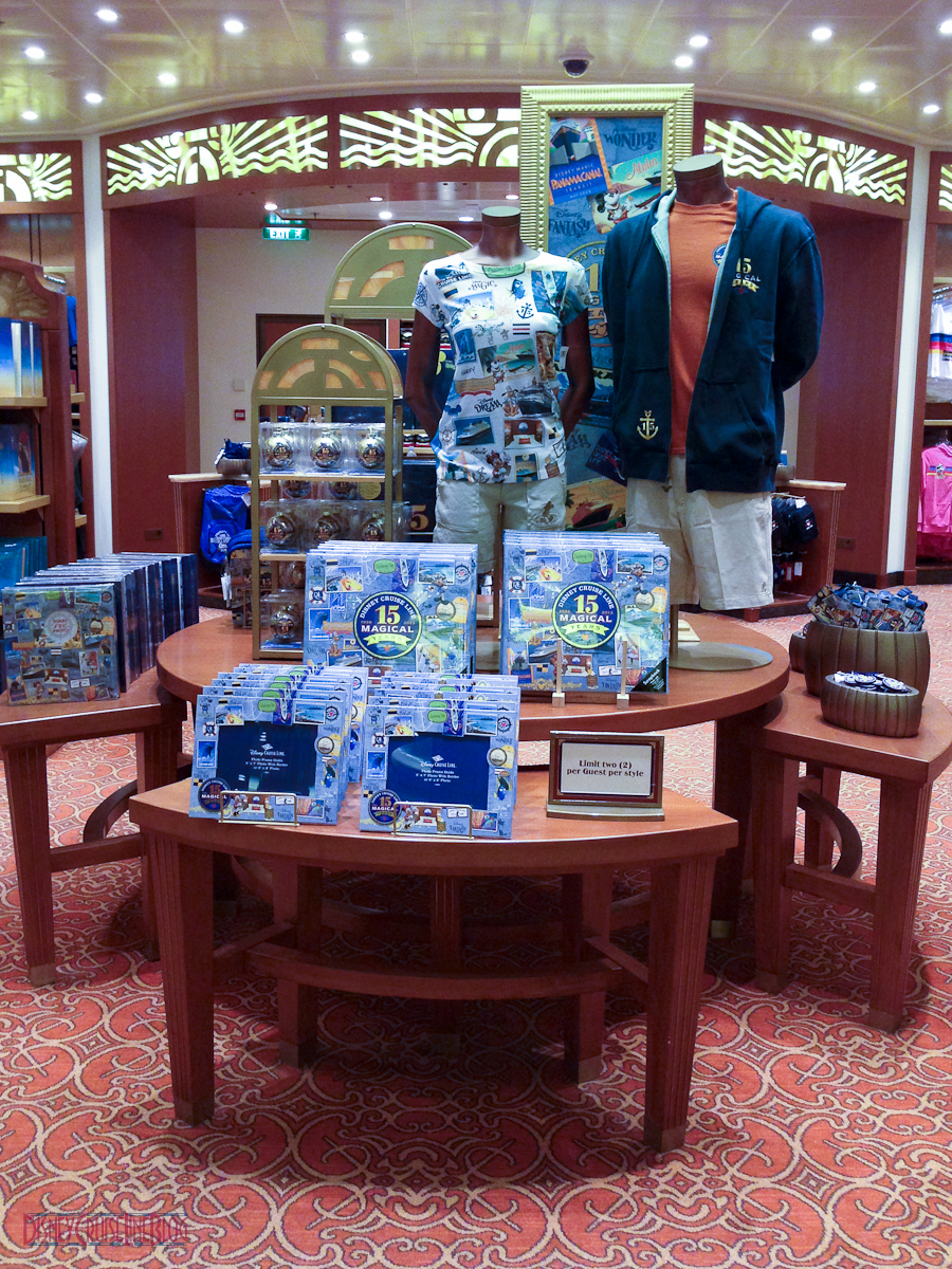 Disney Cruise Line S 15 Magical Years Merchandise The