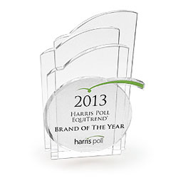 Harris Brands of the Year 2013 Trophy