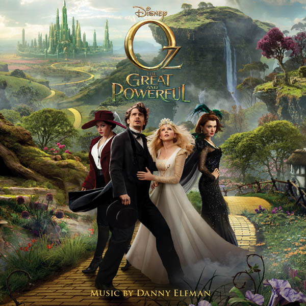 Oz CD Cover Art Elfman Intrada