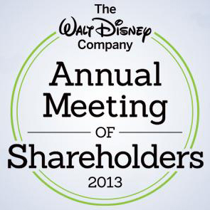Walt Disney Company 2013 Shareholders Meeting