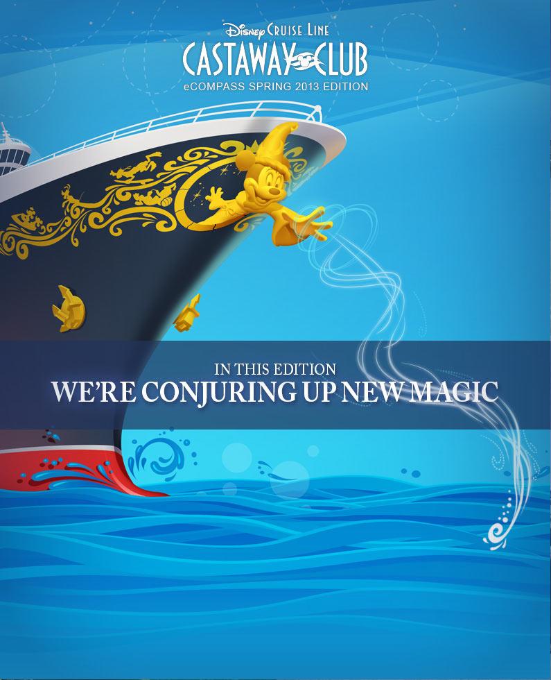 Castaway Club 2013 Spring eCompass - Cover