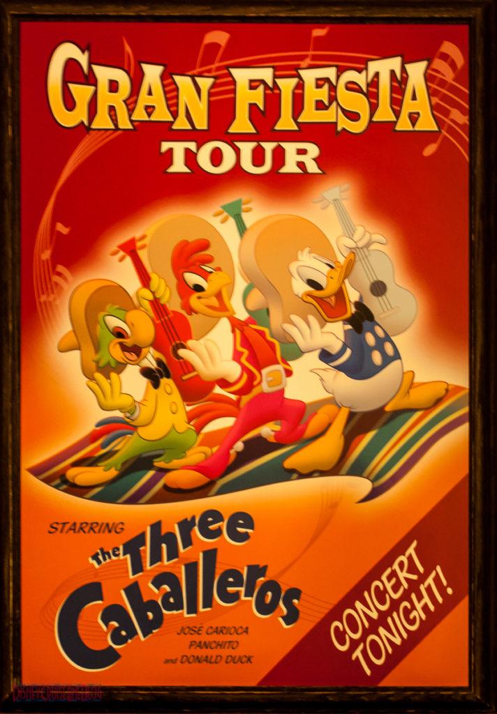 Gran Fiesta Tour Staring The Three Caballeros