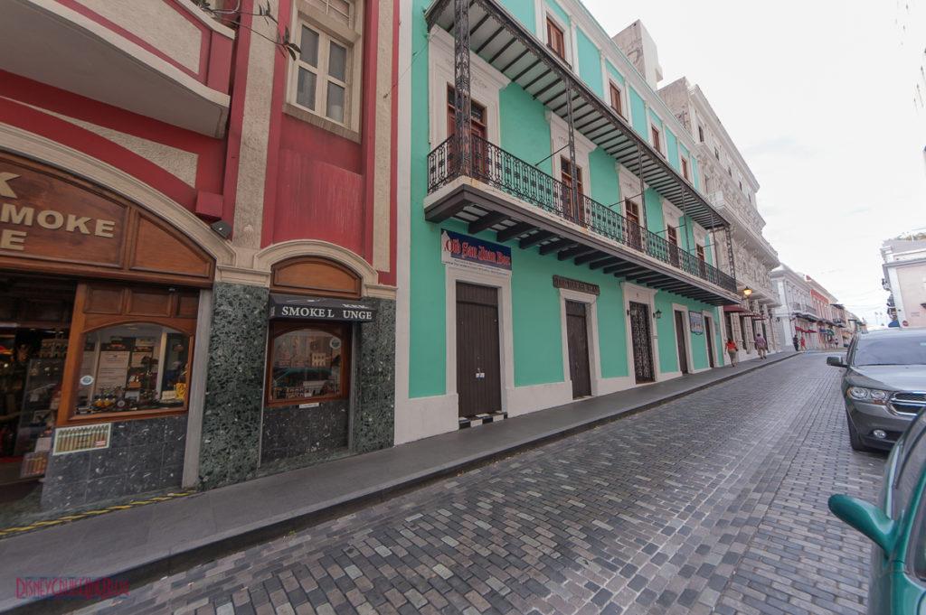 Old San Juan - Cobblestone Street