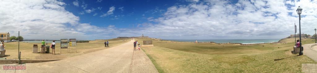 Castillo San Felipe del Morro - Panorama