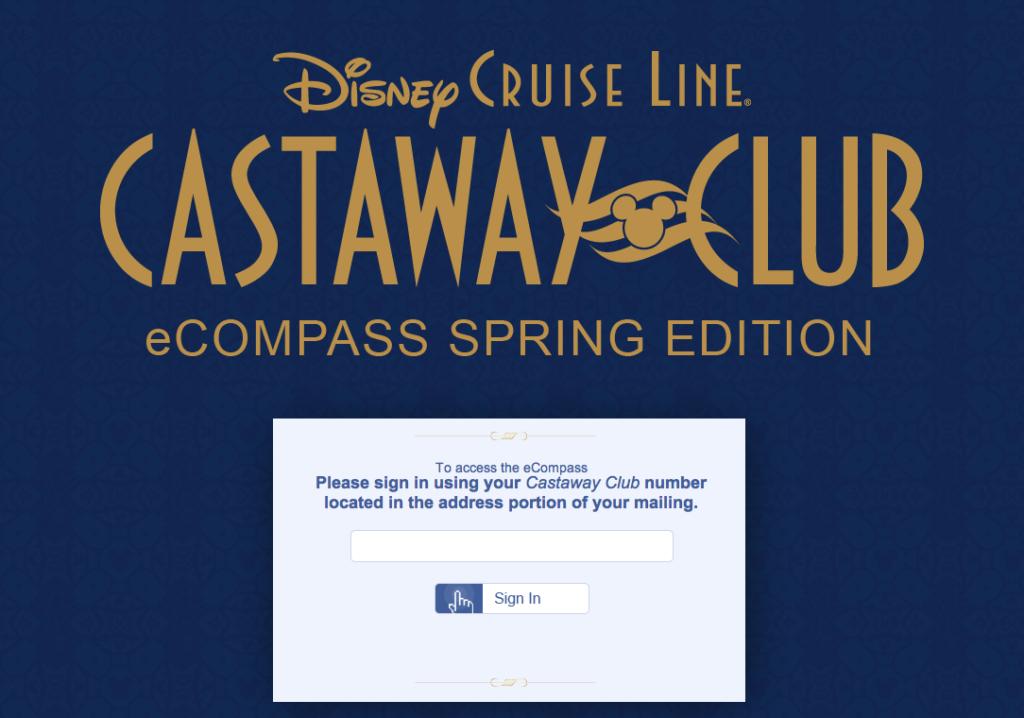 Castaway Club eCompass Login