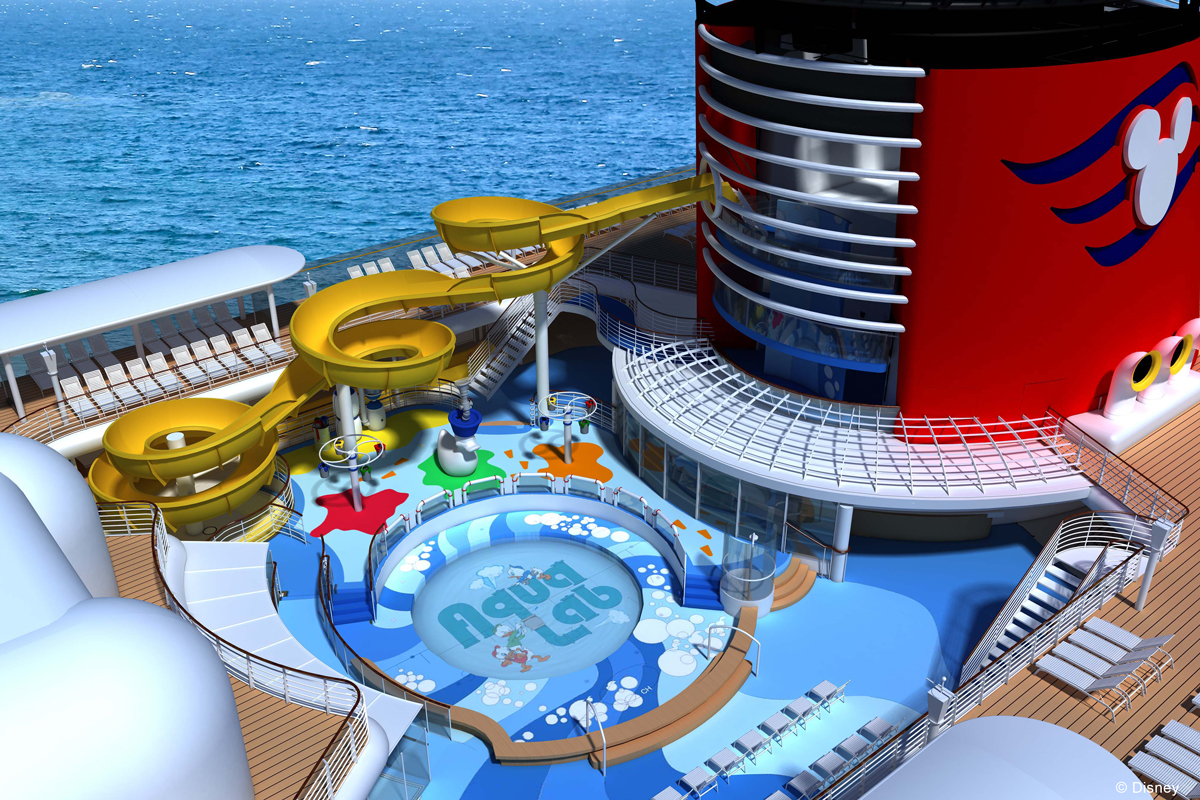 Disney Magic Refurb AquaLab Twist N Spout