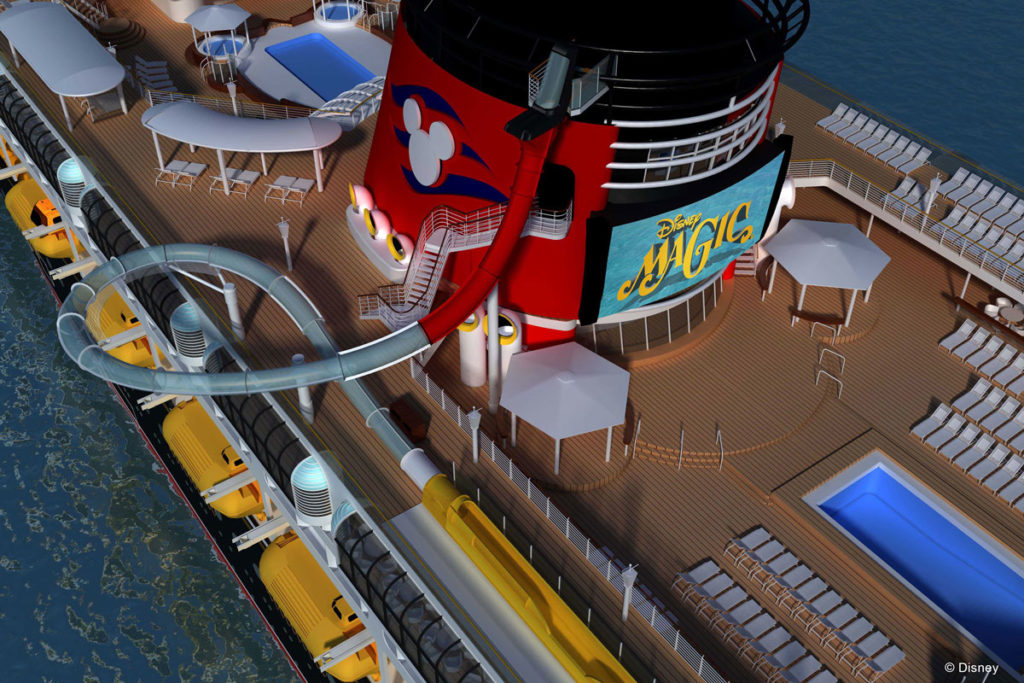 Disney Magic Refurb AquaDUNK Birds Eye View