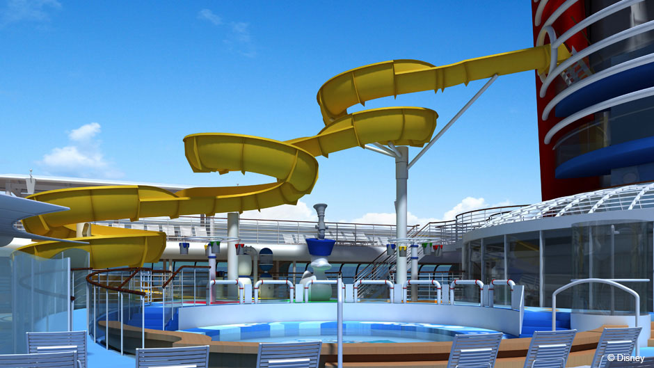 Disney Magic Refurb AquaLab Lounge Chairs