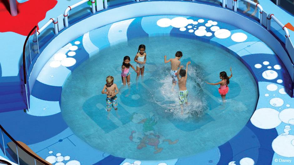 Disney Magic Refurb AquaLab Pool