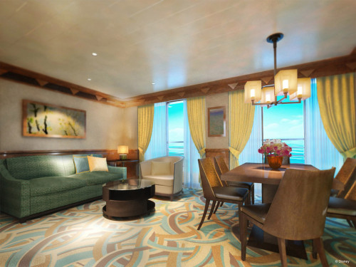 Disney Magic Refurb Concierge Suite