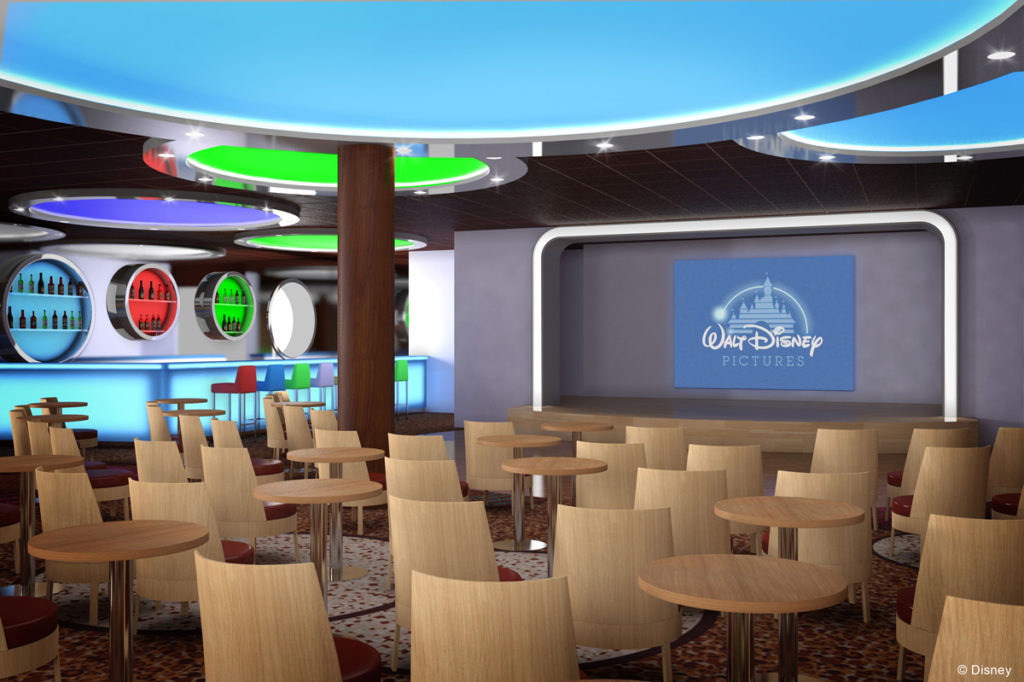 Disney Magic Refurb D-Lounge