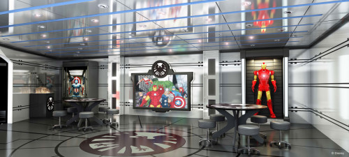 Disney Magic Refurb - Marvel's Avengers Academy
