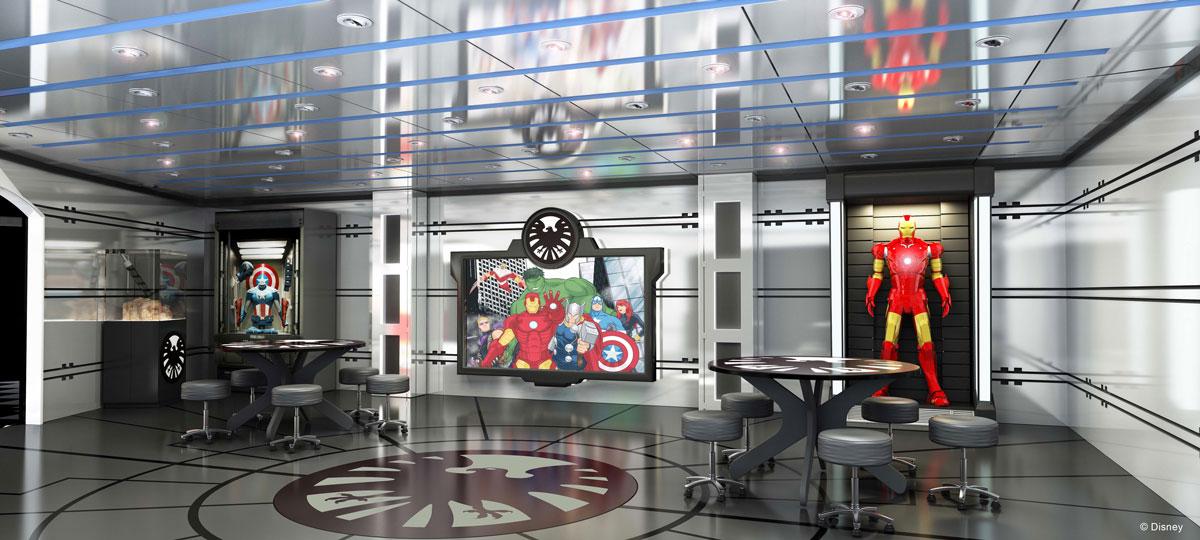 Disney Magic Refurb - Marvel's Avengers Academy