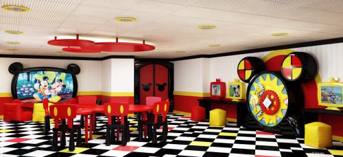 Disney Magic Refurb Mickey Mouse Club