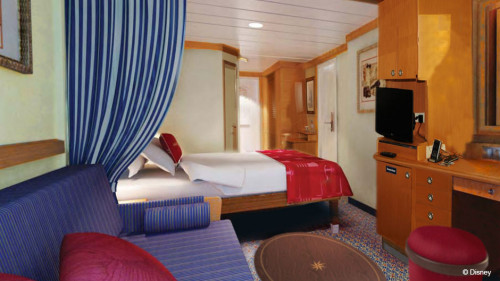Disney Magic Refurb Stateroom Alternate