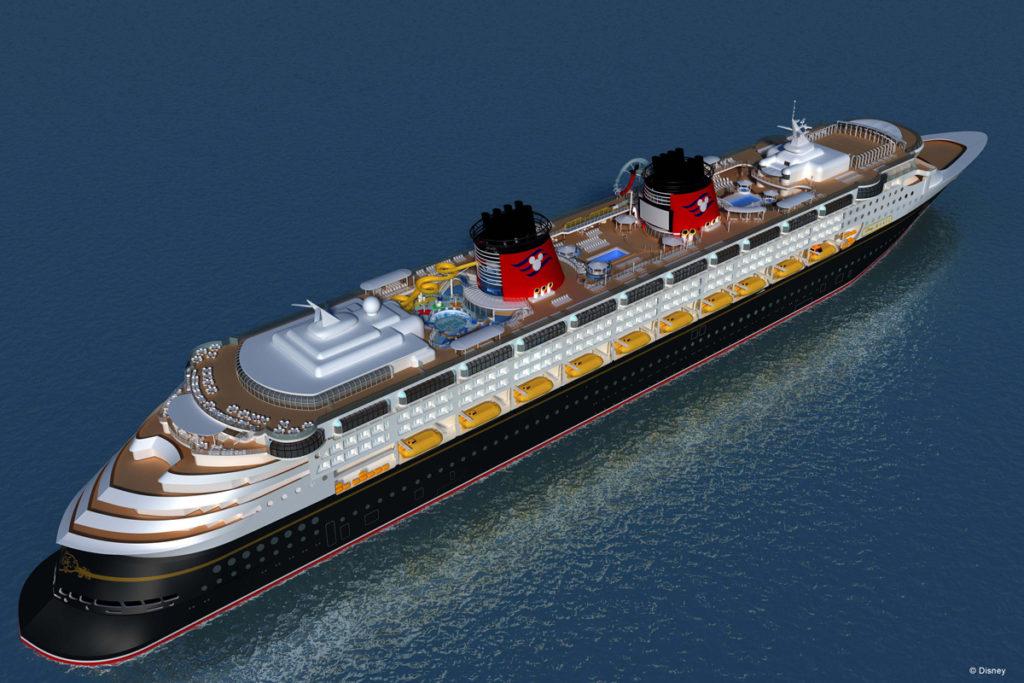 Disney Magic Refurb Upper Decks