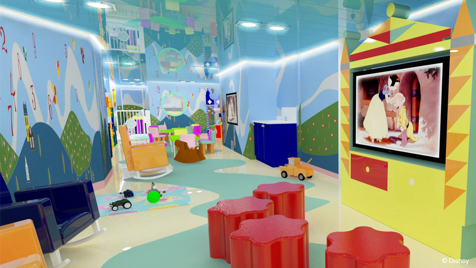 Disney Magic Refurb its a small world Nursery Alternate