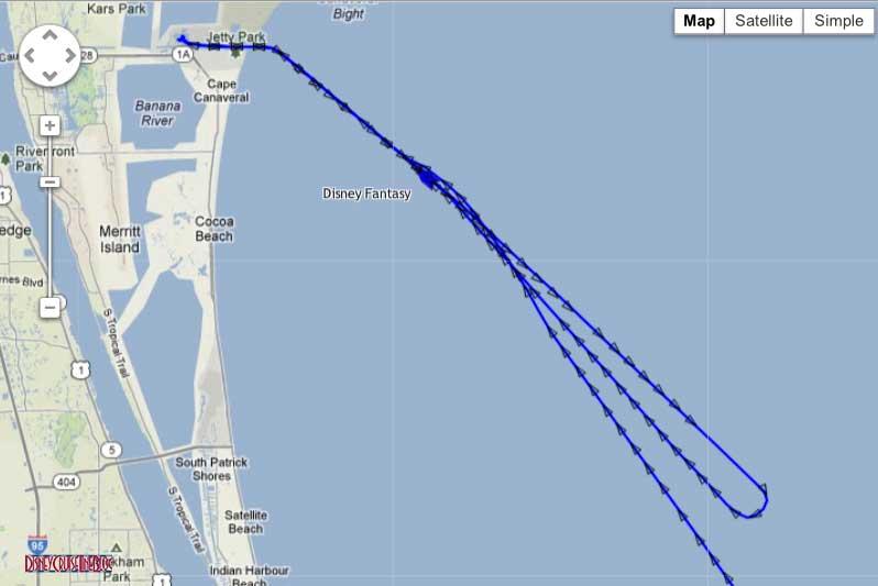 Disney Fantasy Returning to Port Canaveral