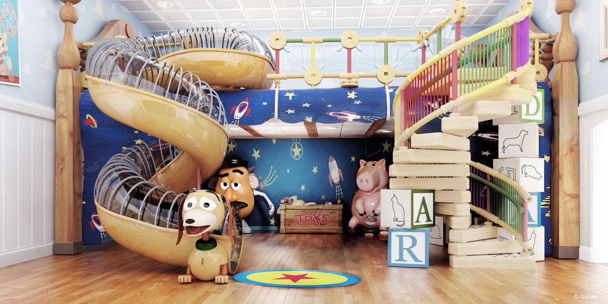 Disney Magic Refurb Andy's Room