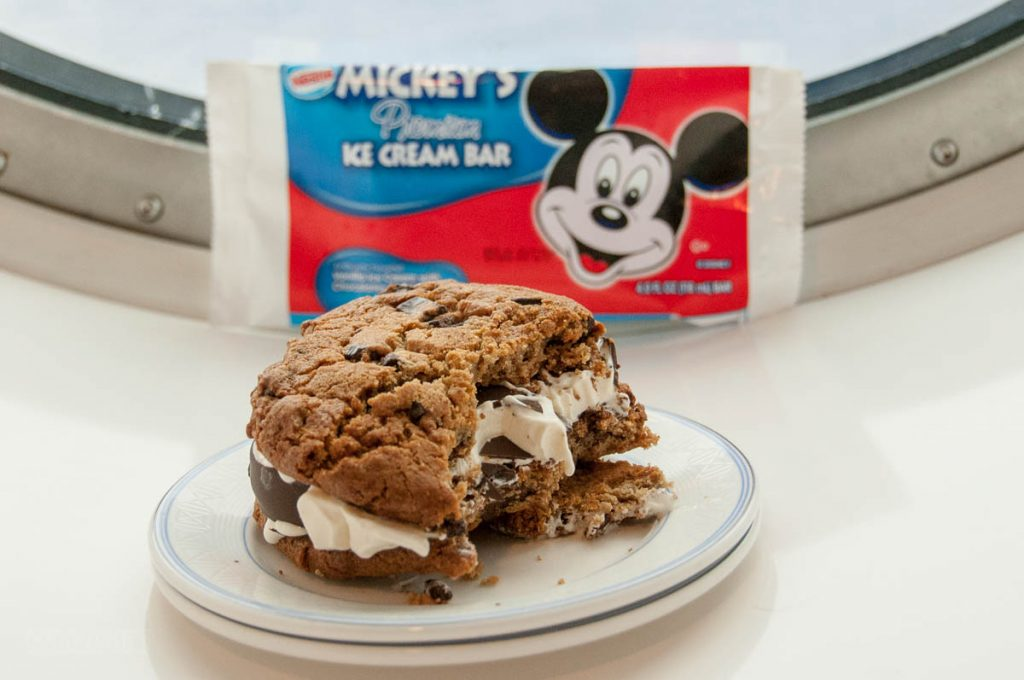 Mickey Bar Ice Cream Sandwich