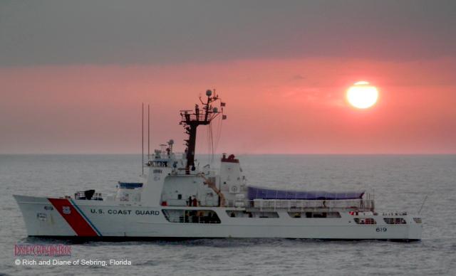 Disney Wonder Rescue April 2013 - US Coast Guard 619