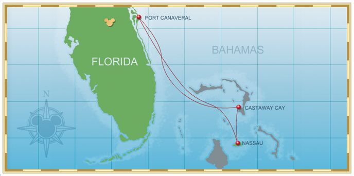 Personal Navigators Disney Magic 4 Night Bahamian Cruise