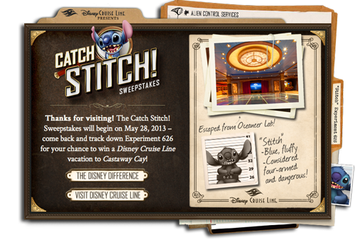 Catch Stitch Sweepstakes Static Graphic