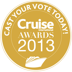 Cruise International Awards 2013 Vote Logo