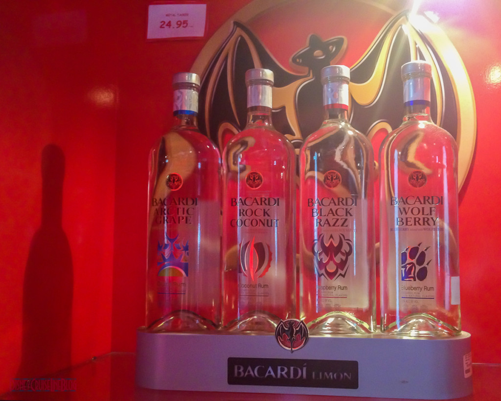 Casa Bacardi Gift Shop Display