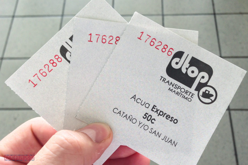 Cataño to Old San Juan Ferry Tickets