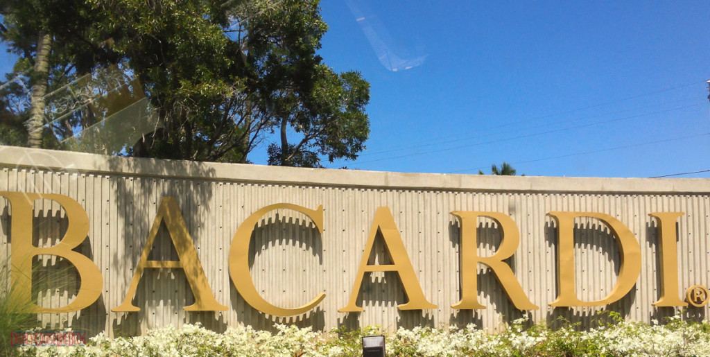 Casa Bacardi Main Entrance Sign