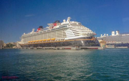 Disney Fantasy from Ferry